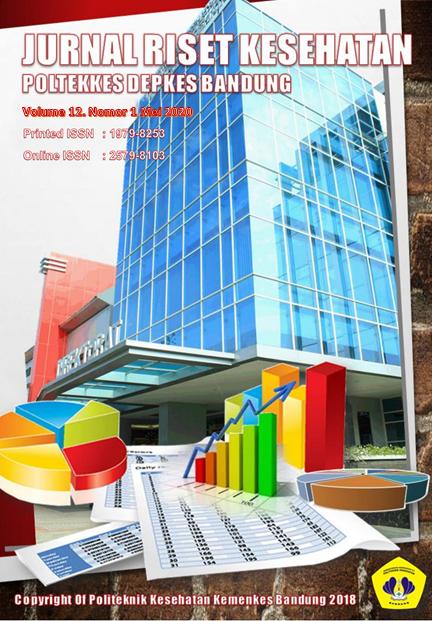 View Vol. 12 No. 1 (2020): Jurnal Riset Kesehatan Poltekkes DepKes Bandung